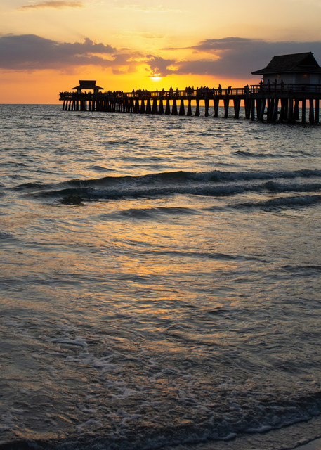 Naples Sunset Art | karenihirsch