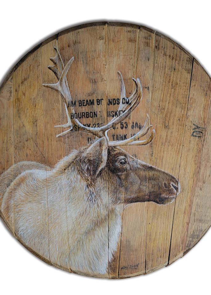 bourbon barrel caribou reindeer