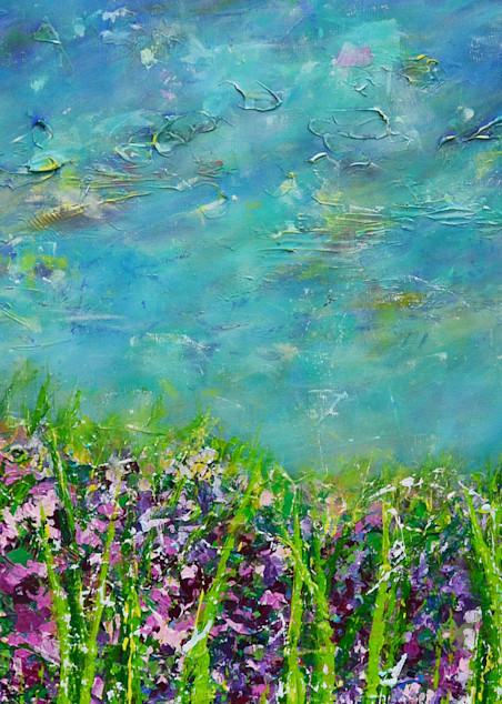 Violet Field Art | Anna Kim Studio