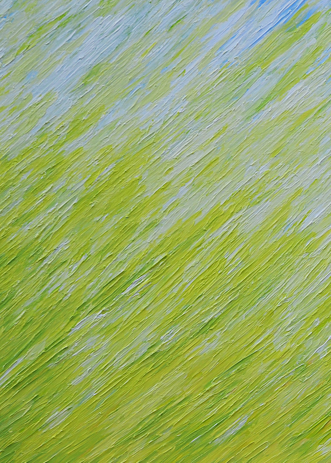 Field Of Dreams Left Diptych Art | Anna Kim Studio