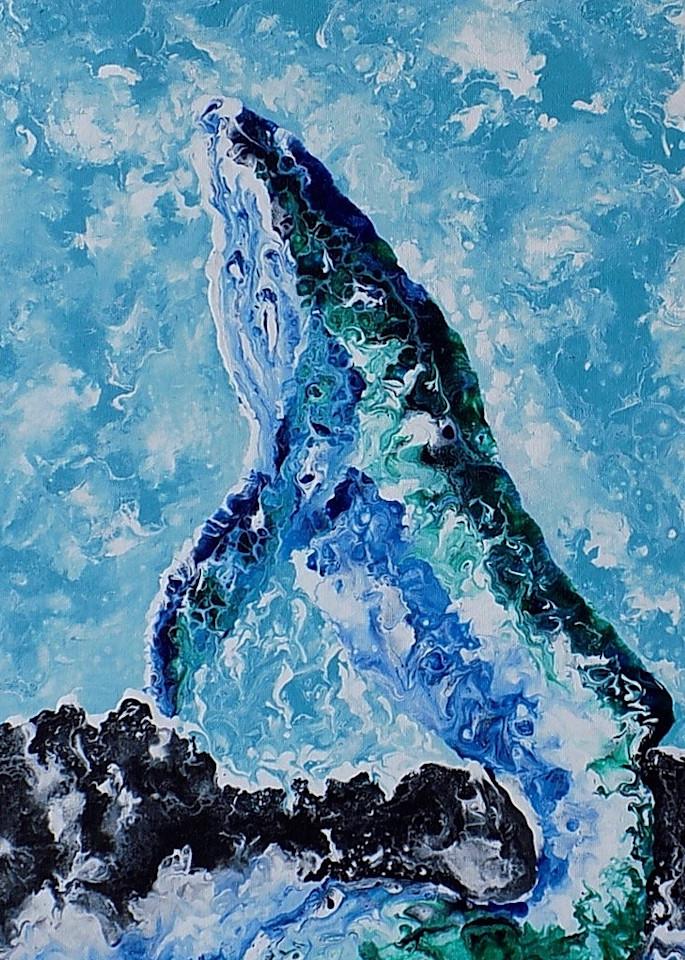 Ascending Humpback Art | treshamgregg - spiritart