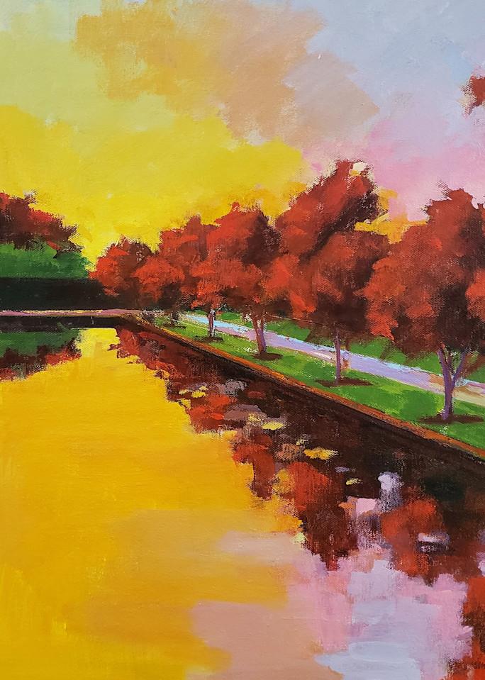 Barnes Sunset  Art | Jenn Hallgren Artist