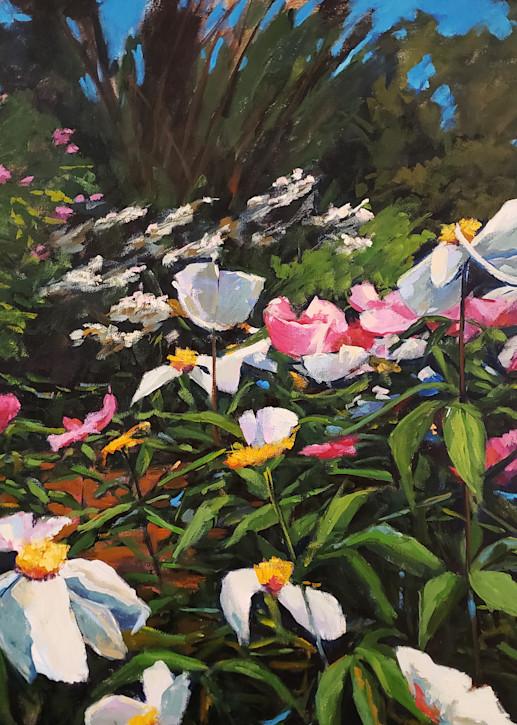 Peonie Painting