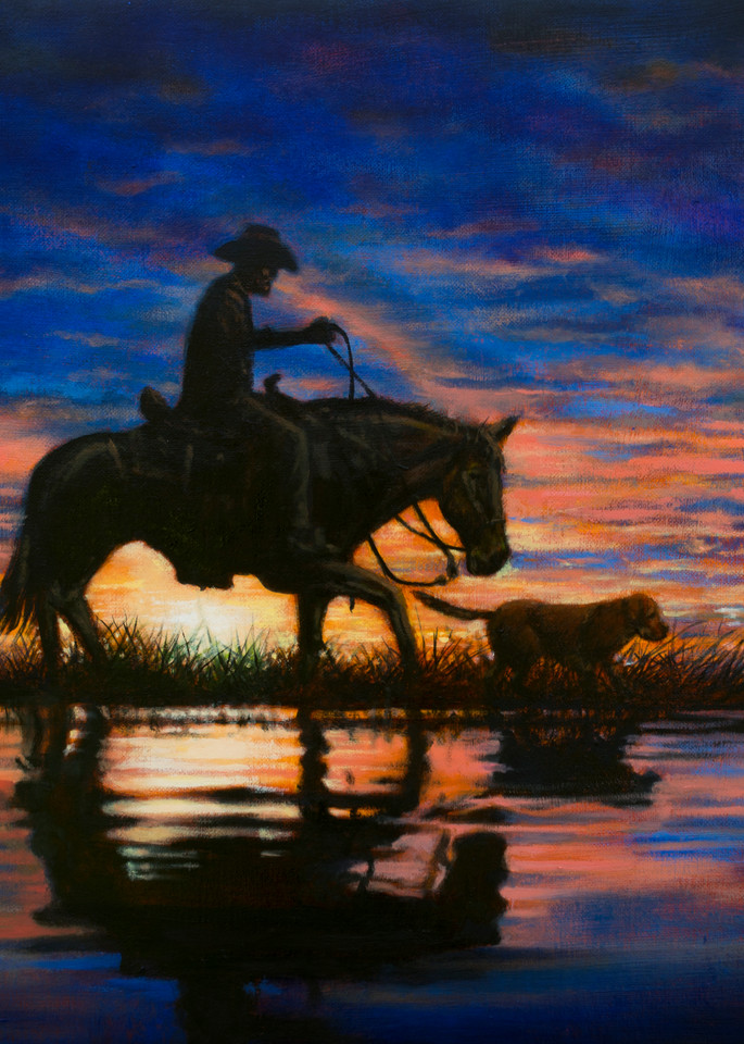 Sunset Rider  Art   James Loveless Art