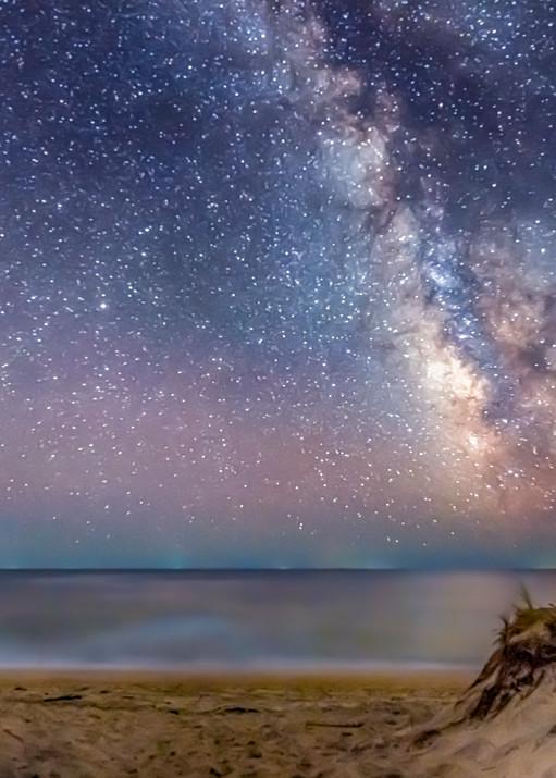 South Beach Milky Way Water Art | Michael Blanchard Inspirational Photography - Crossroads Gallery