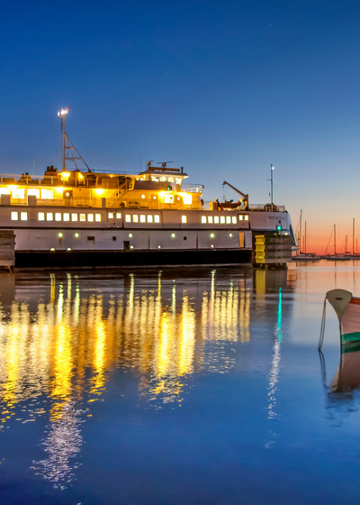 Steamship Ferry Morning Cassie Art   Michael Blanchard Inspirational Photography - Crossroads Gallery