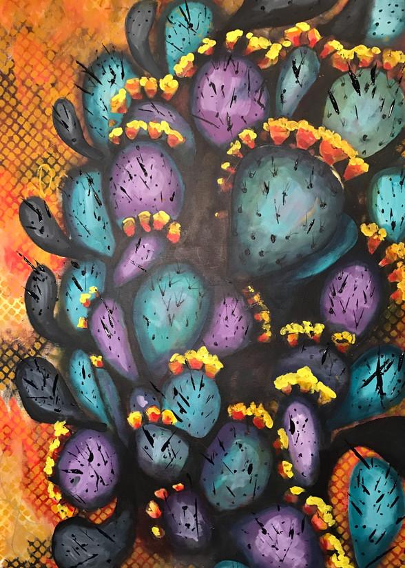 Prickly Beans Art | Judith Visker Art