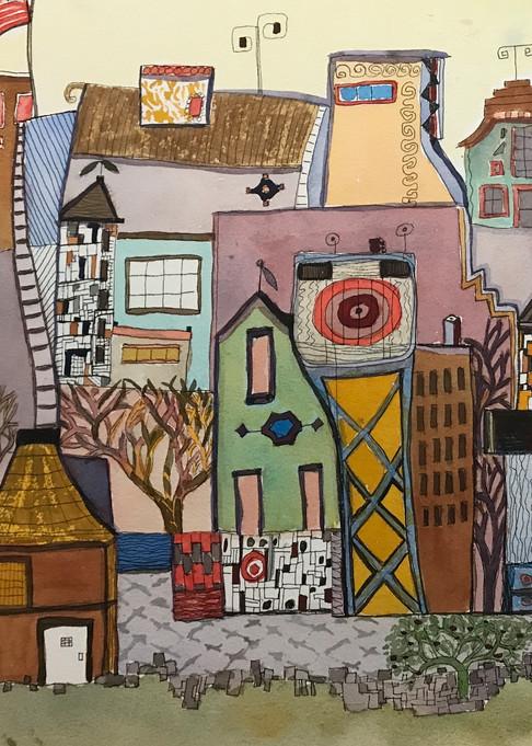 Lift High The Flag Art | Judith Visker Art