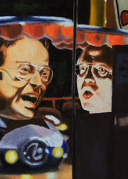 Anger and Fear Heads from Calypso Painting - Prints