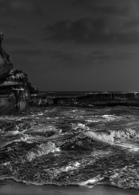 A Heartfelt Moment At Black's Beach Photography Art | Rinenbach Photography