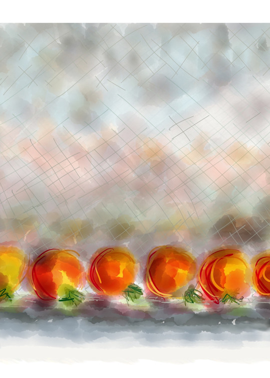 Ripening Tomatos Art | ART By George!