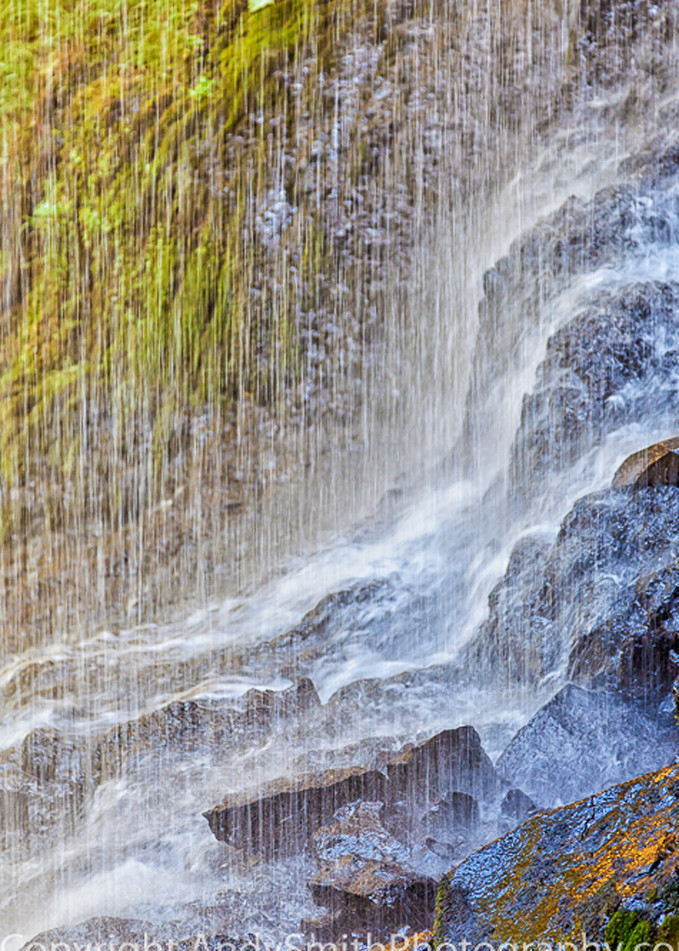 Patterns at the Bottom of North Falls fine art photograph