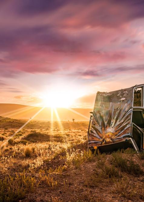 'Brush Strokes & Sun Rays' Photograph by Jess Santos for sale as Fine Art