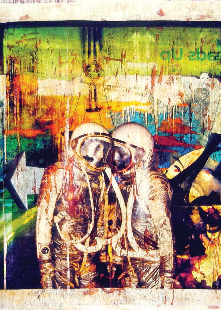 Heads Up 30x30 Art | Kyle Schember
