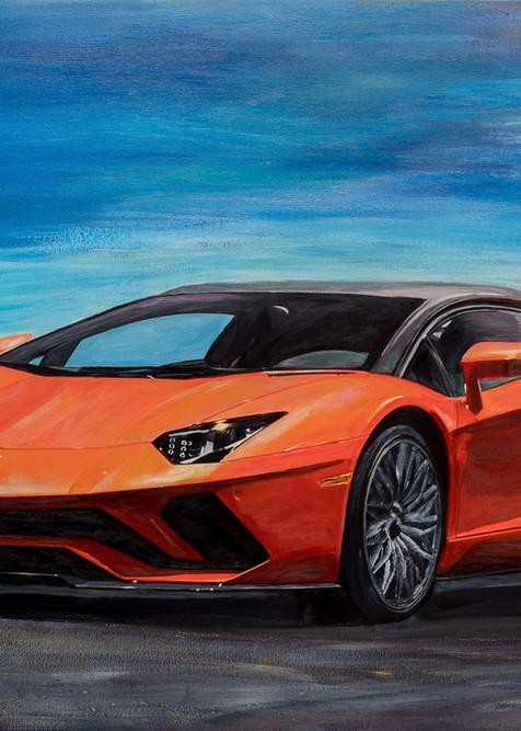 Lamborghini Aventador S Coupe Art | Media, Merchandise & Entertainment, LLC.