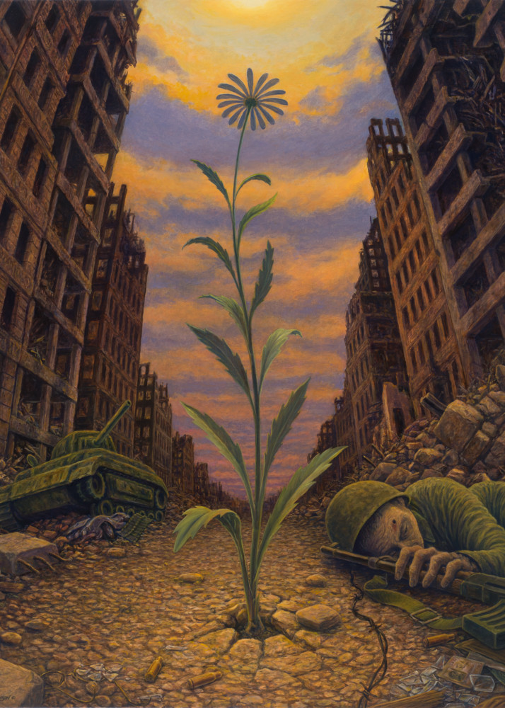 Force of Life custom print from the original painting by Mark Henson