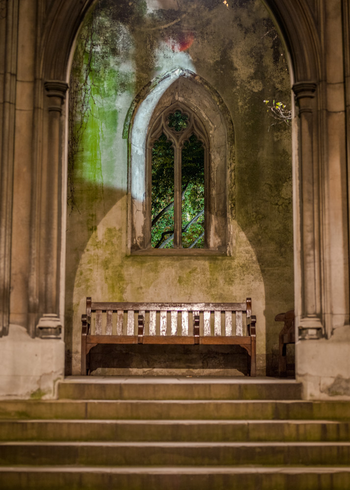 Quiet Alcove in St Dunstan | London Art Photography Store