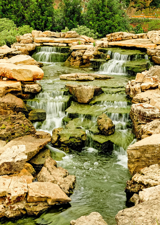 Waterfalls 17 Colorful Photography Art   Drone Video TX