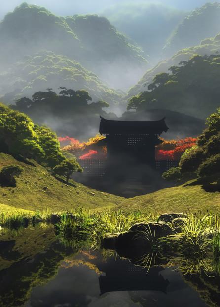 Temple of Perpetual Autumn | Cynthia Decker