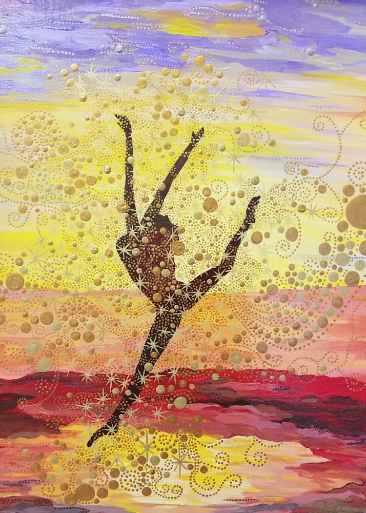 Sunset Leap Art | TAVolgenau