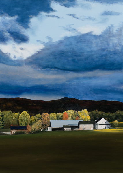 New York Farm Early Autumn  Art | Brendan Kramp Studio & Workshop