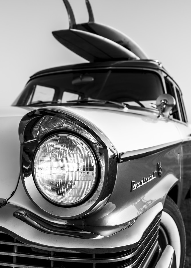 1964 Studebaker & Vintage Surfboards #5 Photography Art | Kit Noble Photography