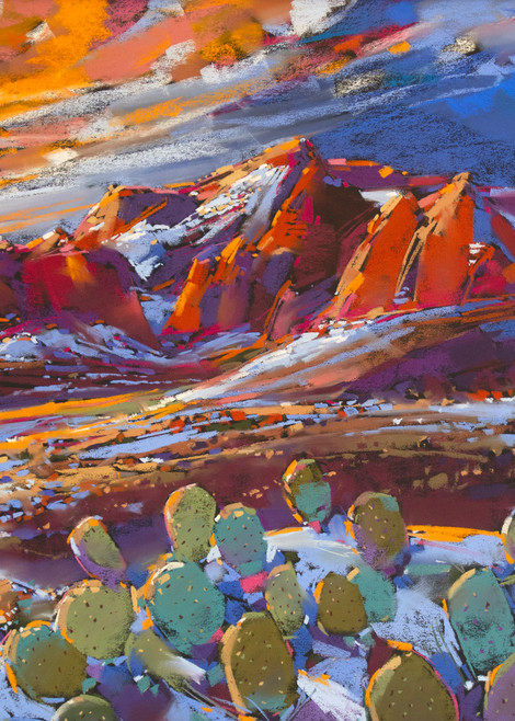 Sedona Snow Art | Michael Mckee Gallery Inc.