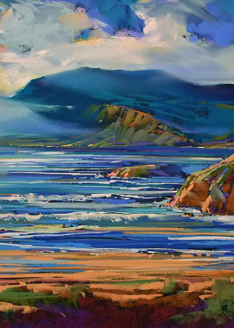 Oregon Coastal Blue Art | Michael Mckee Gallery Inc.
