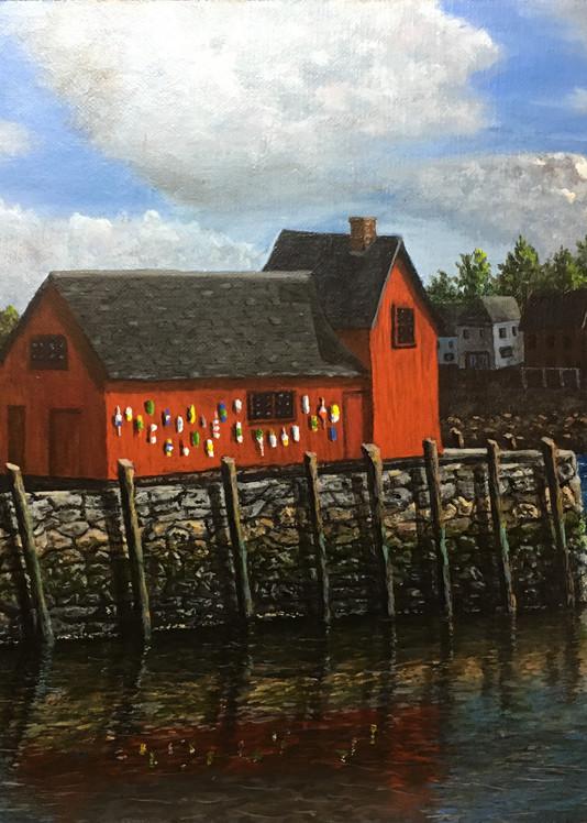 Rockport Harbor Art | Mark Grasso Fine Art