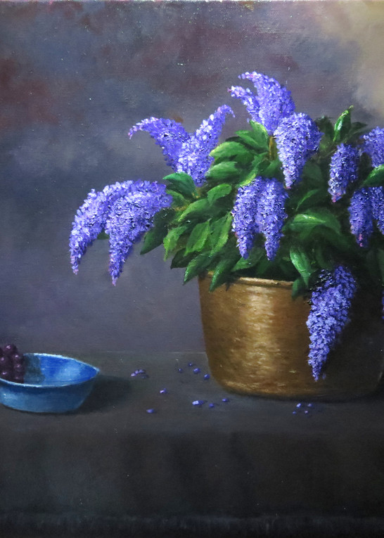 Spring Lilacs Art | Mark Grasso Fine Art