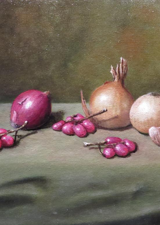 Onions And Grapes Art | Mark Grasso Fine Art