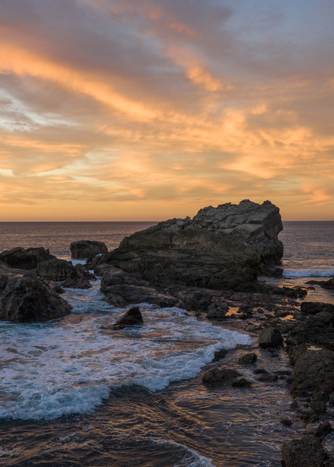 Rocky Point Sunset Photography Art | Kit Noble Photography