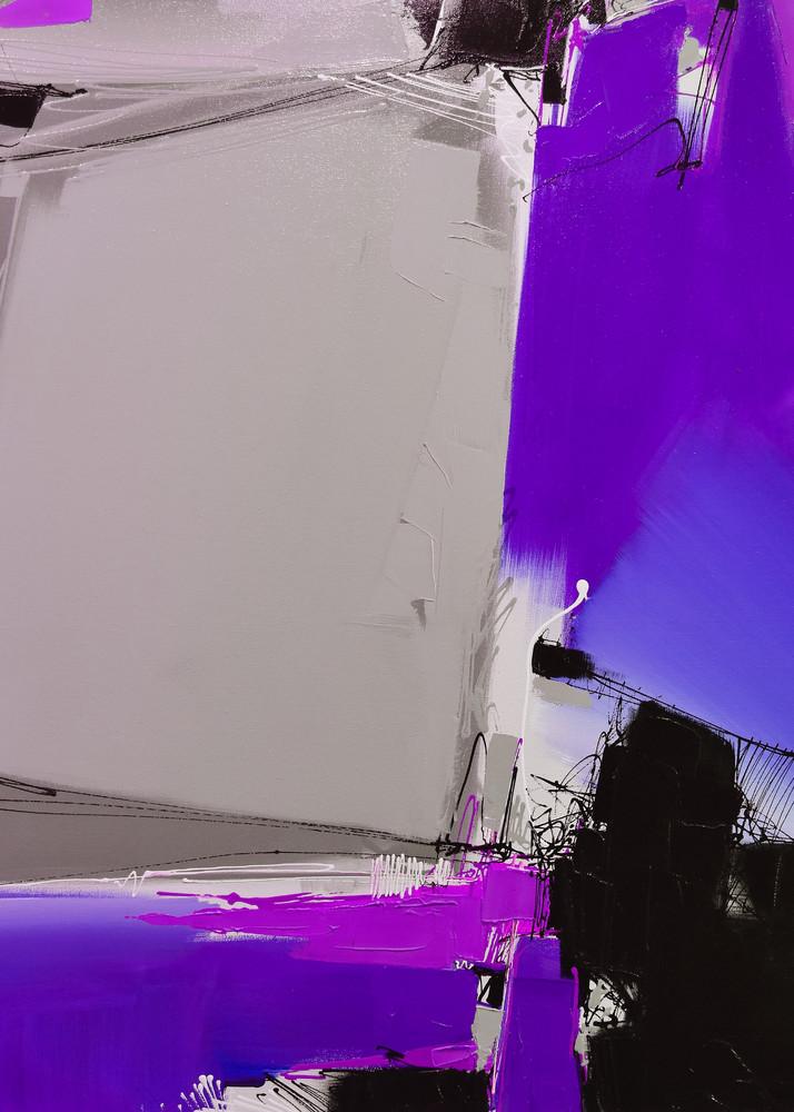 Quartertone In Violet Art | Michael Mckee Gallery Inc.
