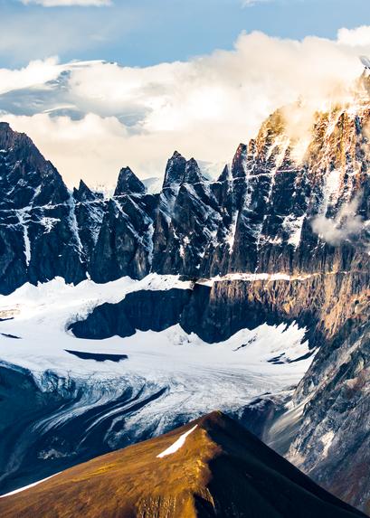 Alaska Aerial Cirque At Sunset Photography Art | Eric Hatch