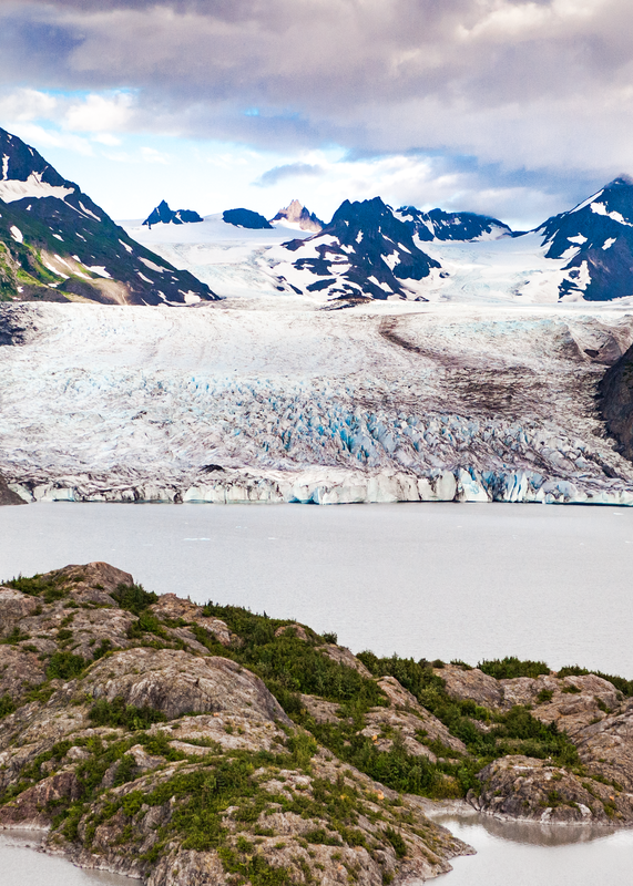 Grewingk Glacier And Terminus (Color) Photography Art | Eric Hatch