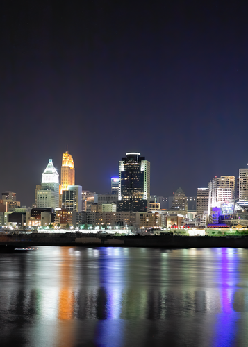 Cincinnati By Night Number 1 Photography Art | Eric Hatch