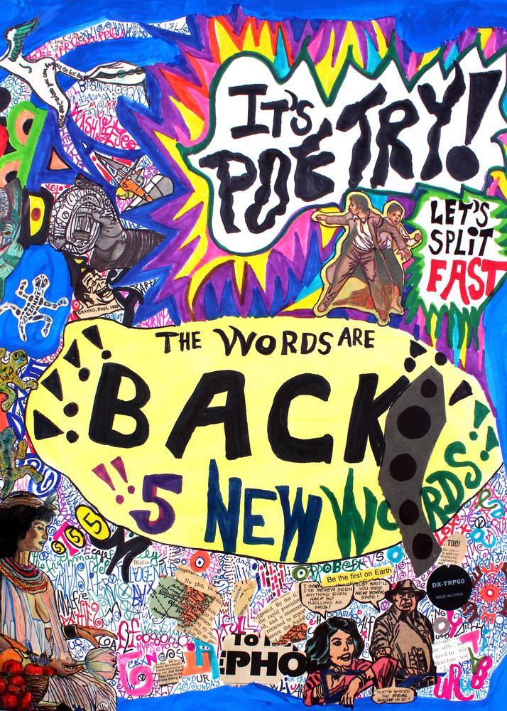The Words are Back! - Michael Basinski