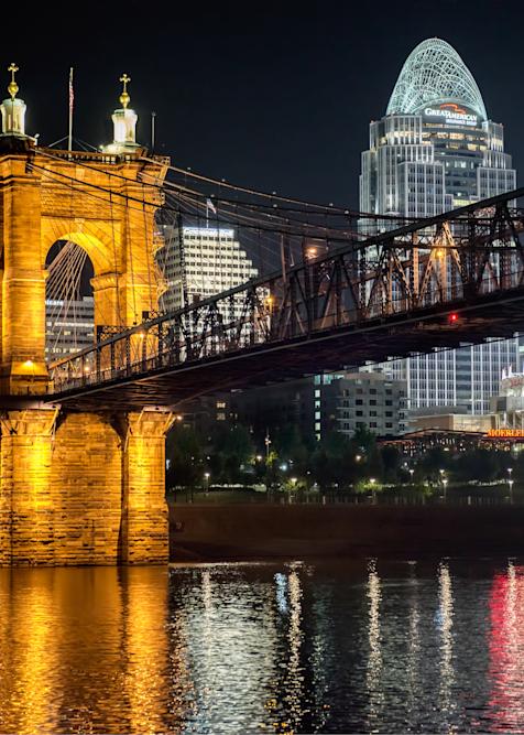 Cincinnati Old And New Night Cityscape Photography Art | Eric Hatch