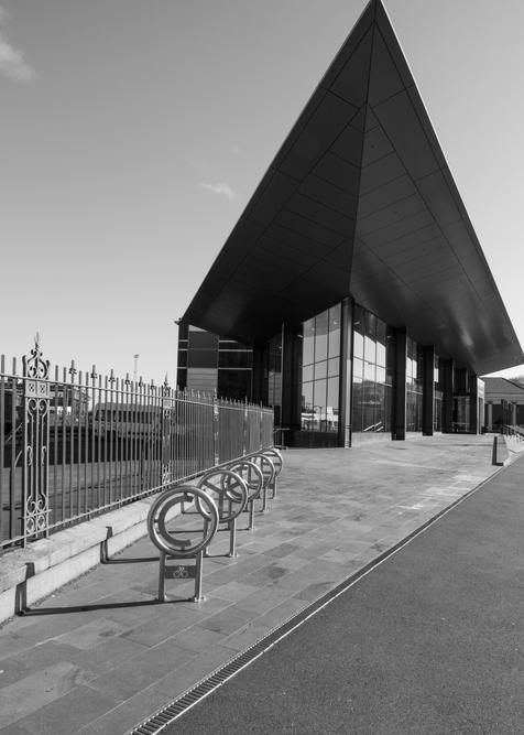 Terminal Dunedin Nz Bw Photography Art | Eric Hatch