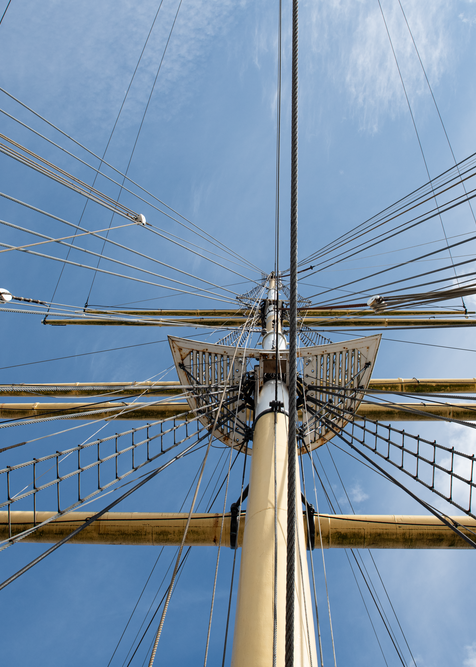 Shipshpe Tall Ship Spars And Rigging Photography Art | Eric Hatch