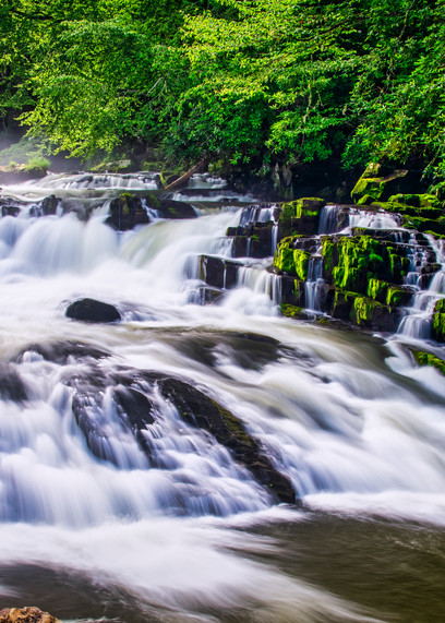 Nantahala River Waterfall - fine-art photography prints