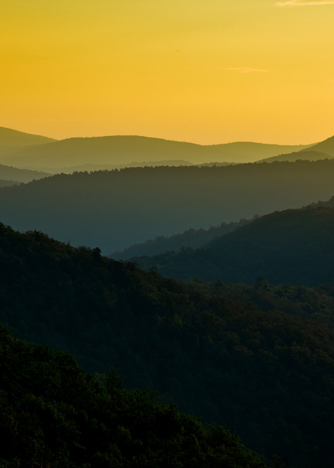 Sunrise Over Appalachia - Shenandoah National Park fine-art photography prints