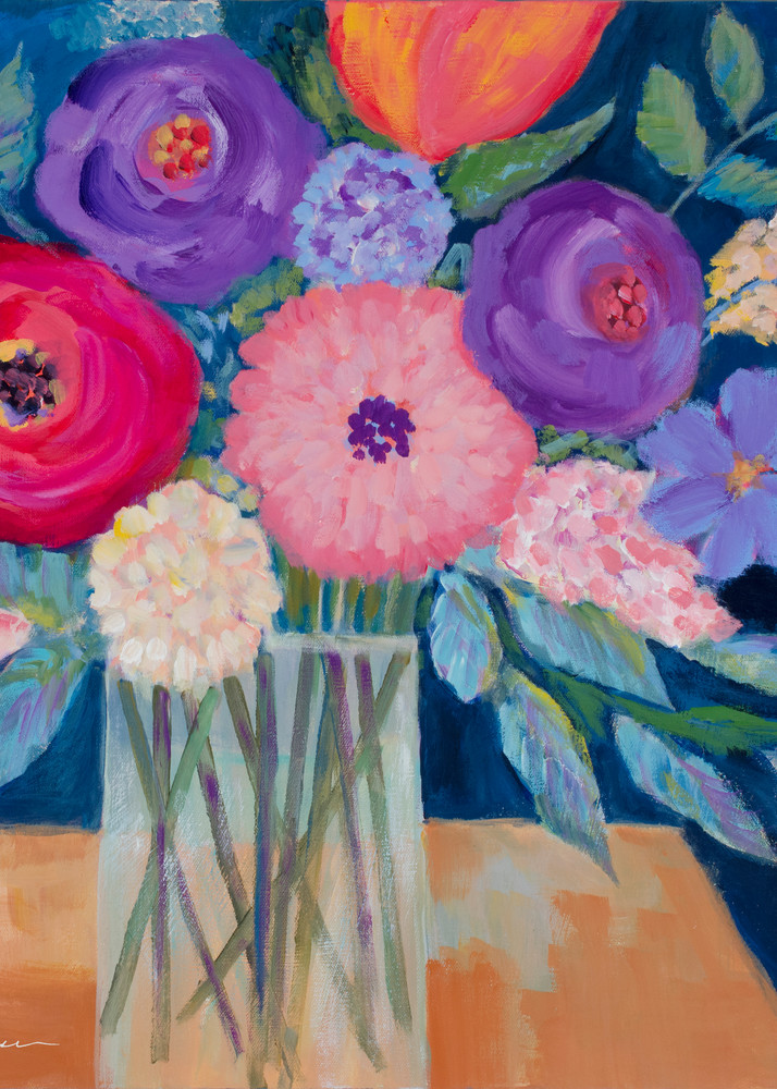 Bold Blooms Art | lynnericson-fine-art.com
