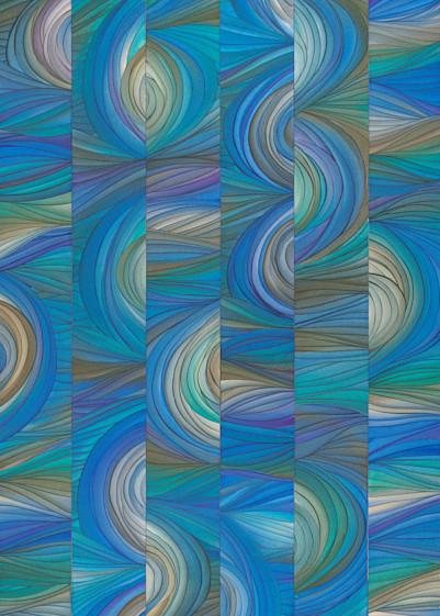 2x5 Blue - Prints