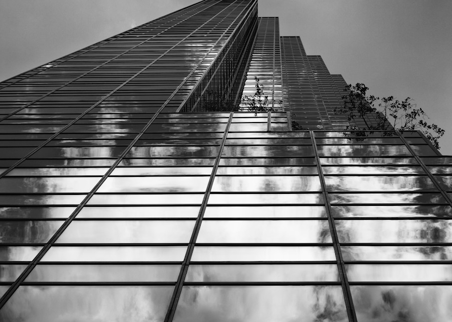 Clouds in the Trump Tower