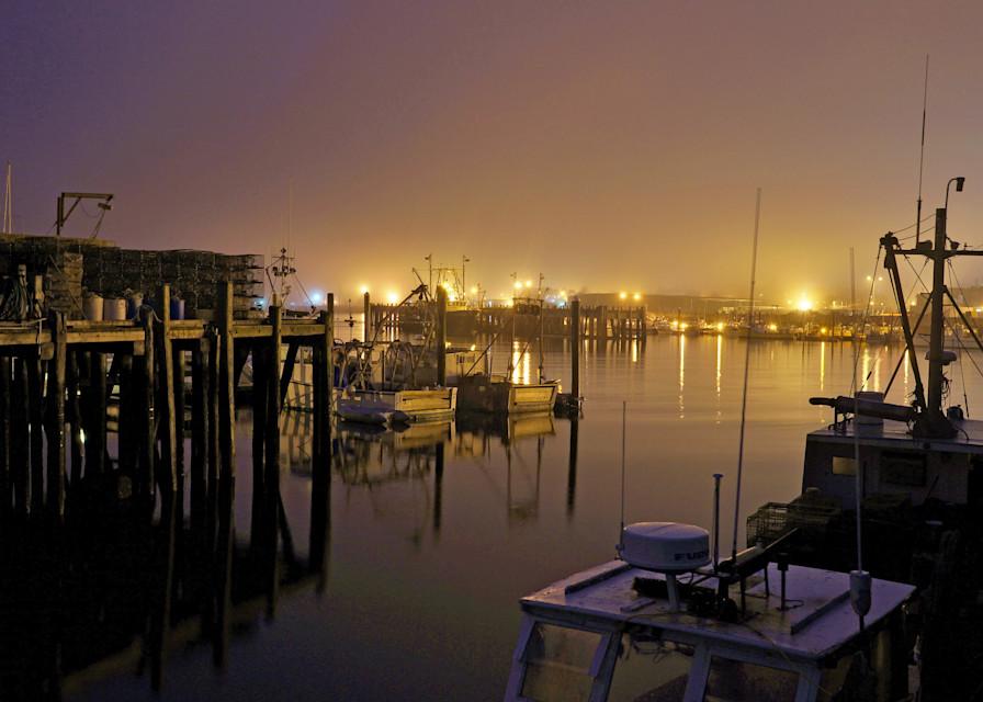Inner Harbor At Night Art | capeanngiclee