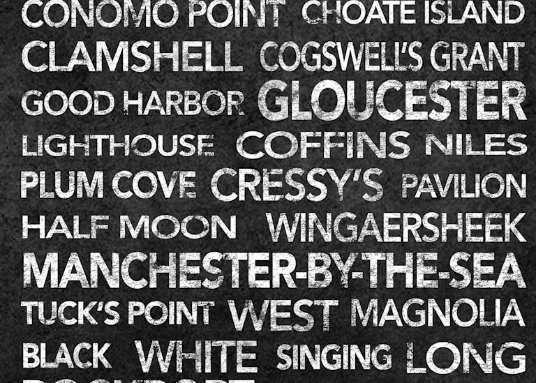 Cape Ann Black Art | capeanngiclee