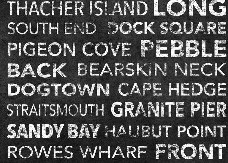 Rockport Black Art | capeanngiclee