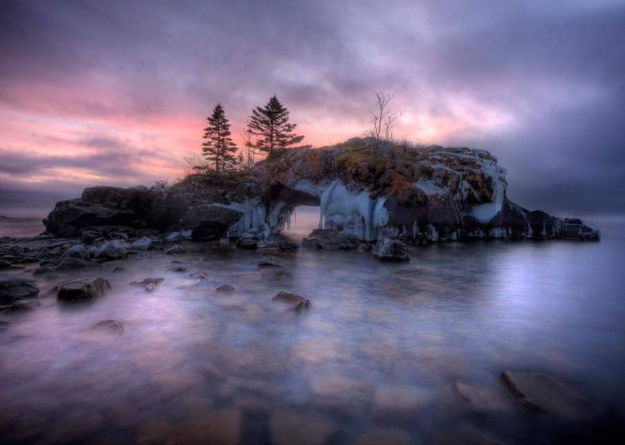 Hollow Rock along Lake Superior
