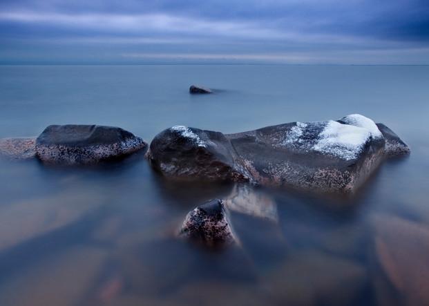 Infinity along Lake Superior